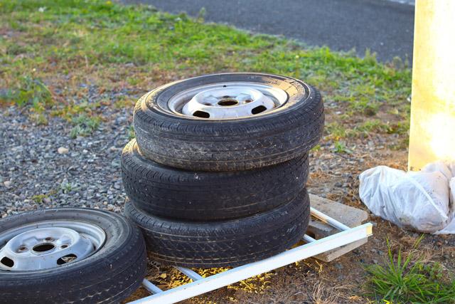 廃タイヤのイメージ写真