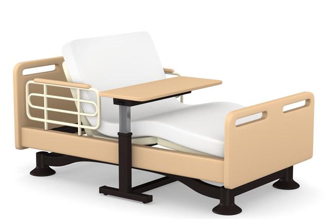 一般的な介護ベッドのイメージイラスト