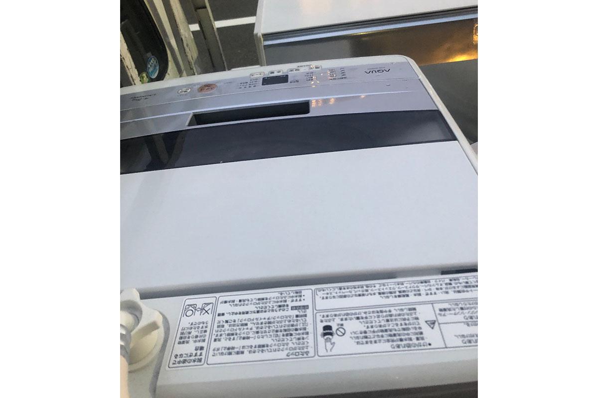 大阪市此花区にて回収した洗濯機、冷蔵庫の写真