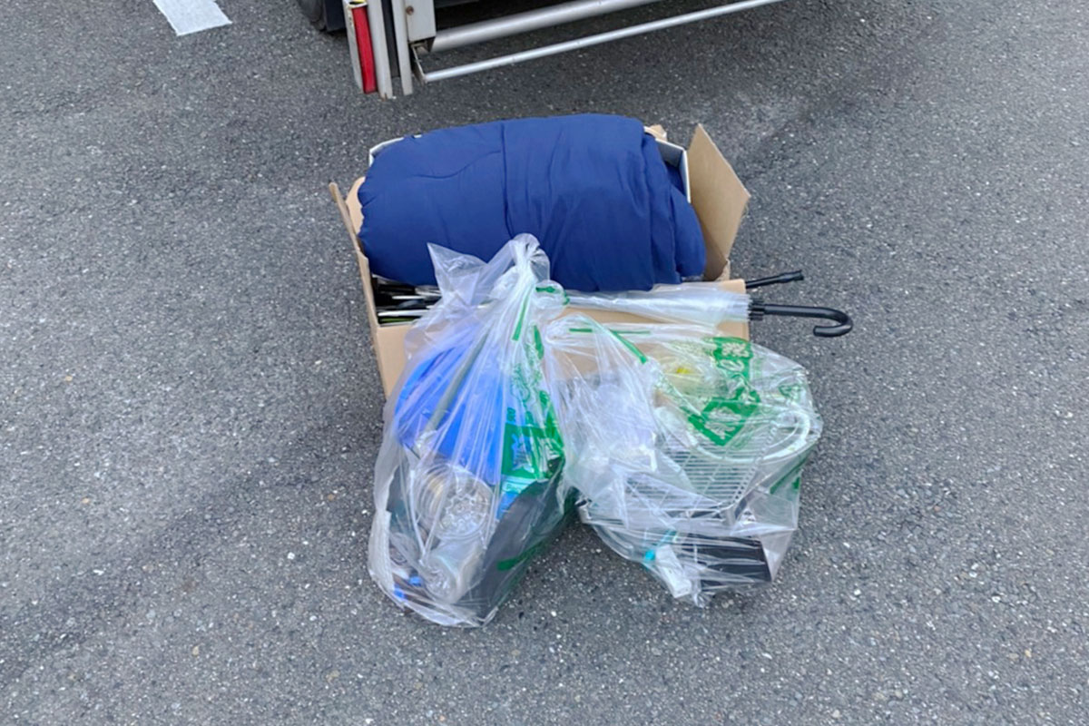 京都市下京区にて回収した不用品の写真
