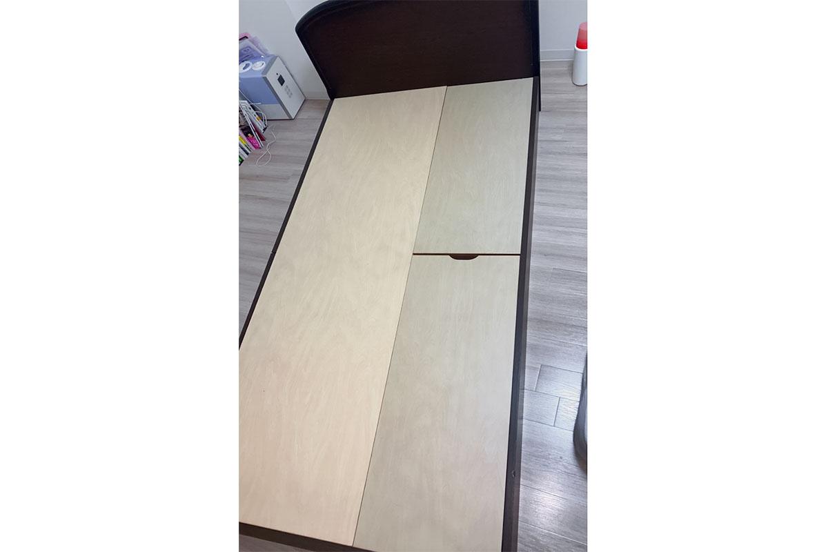 京都市中京区にて回収したベッドフレームの写真