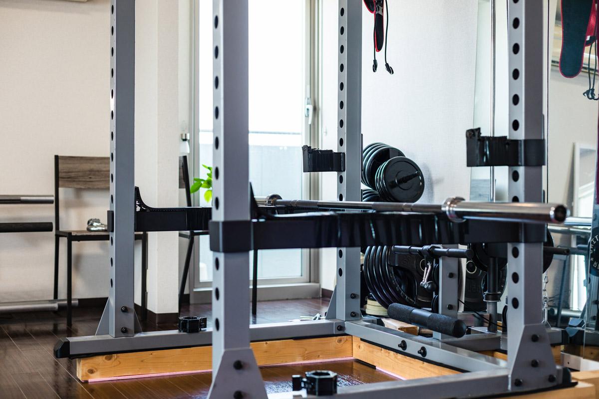使わないトレーニング器具のイメージ写真