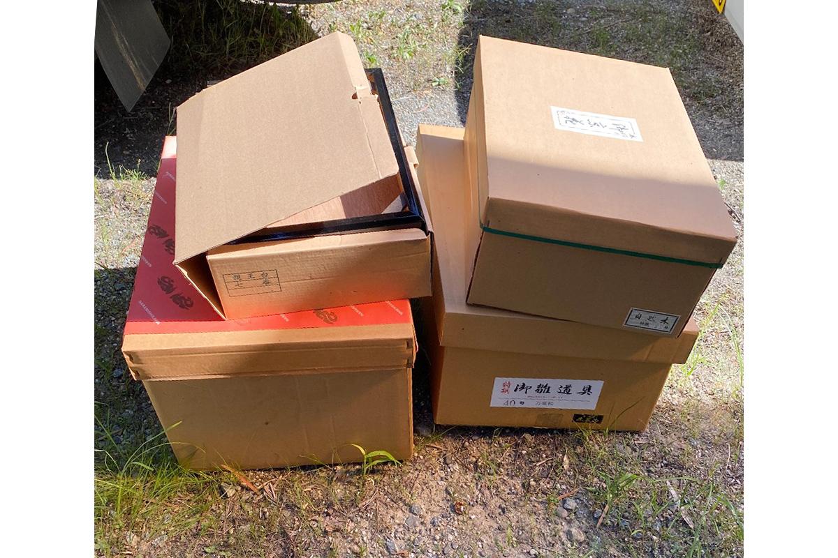 奈良県奈良市にて回収した不用品の写真