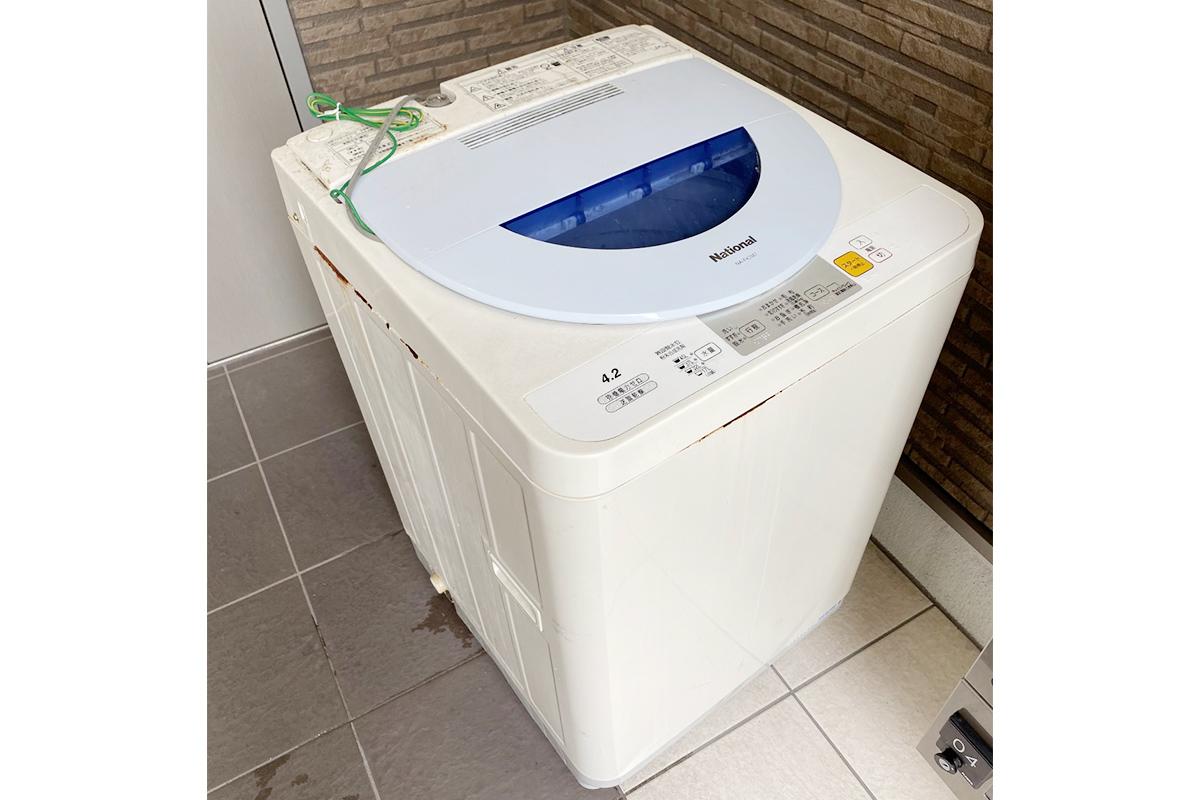 大阪府寝屋川市にて回収した洗濯機の写真
