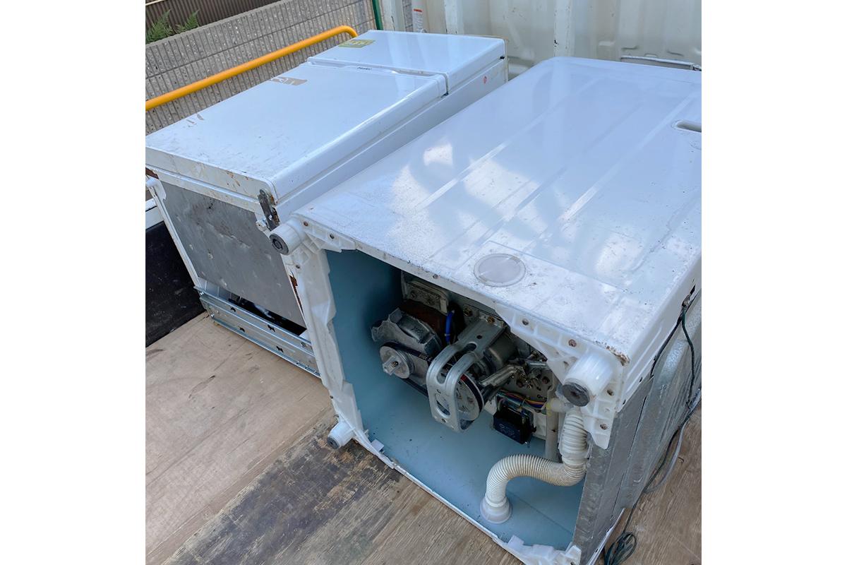 大阪府高槻市にて回収した洗濯機の写真