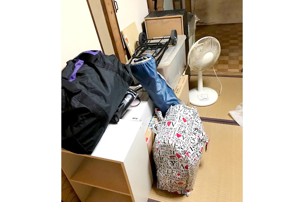 大阪市港区にて回収した不用品の写真