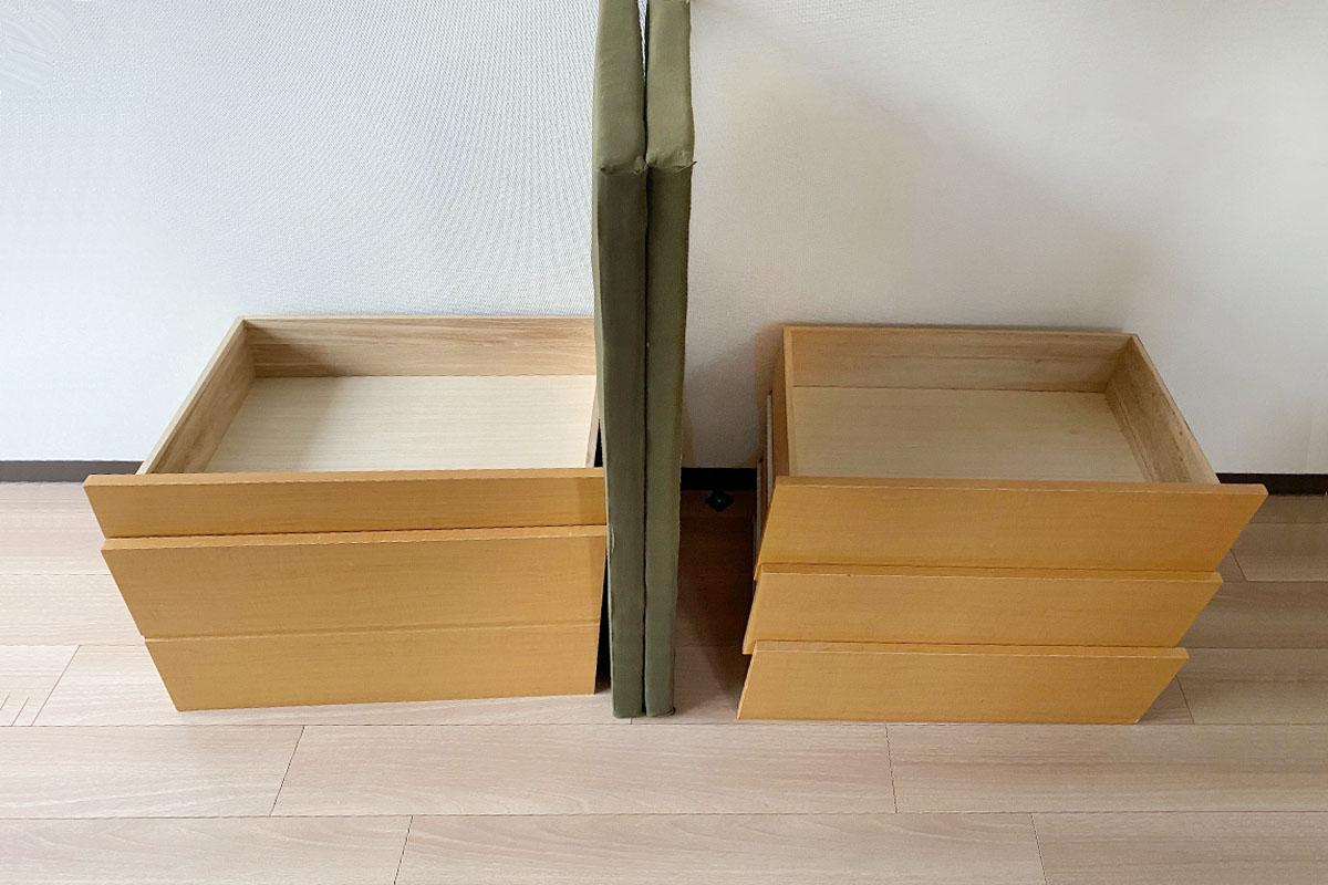 大阪市中央区にて回収したベッドの写真