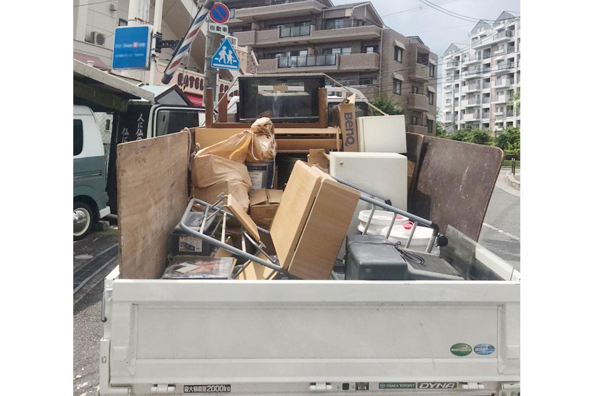 大阪府豊中市にて回収した不用品の写真