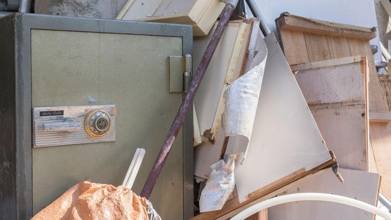 廃棄する金庫のイメージ写真