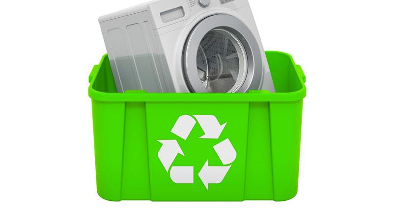 リサイクル家電のイメージイラスト