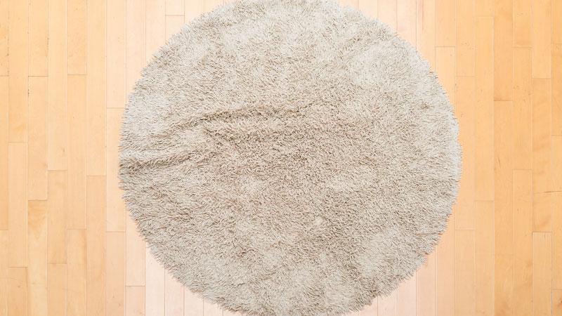 円形ラグのイメージ写真
